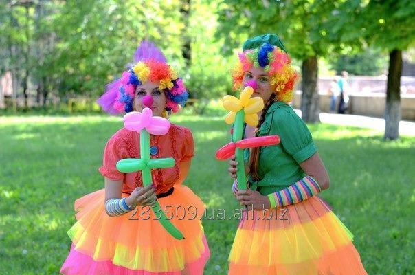 Заказать Веселые клоуны на праздник