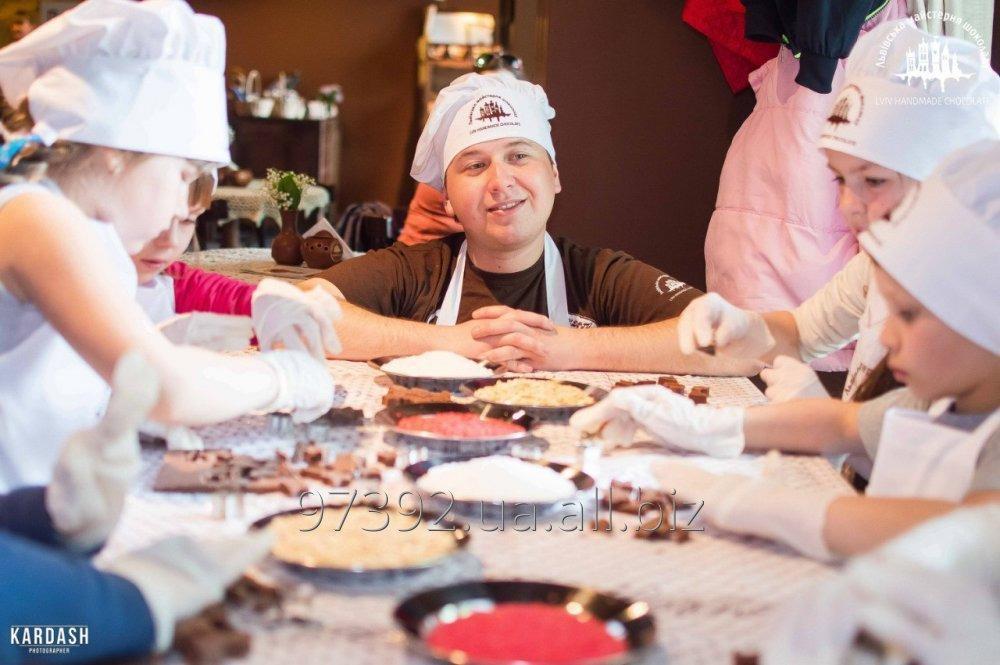 Заказать Шоколадні майстер-класи