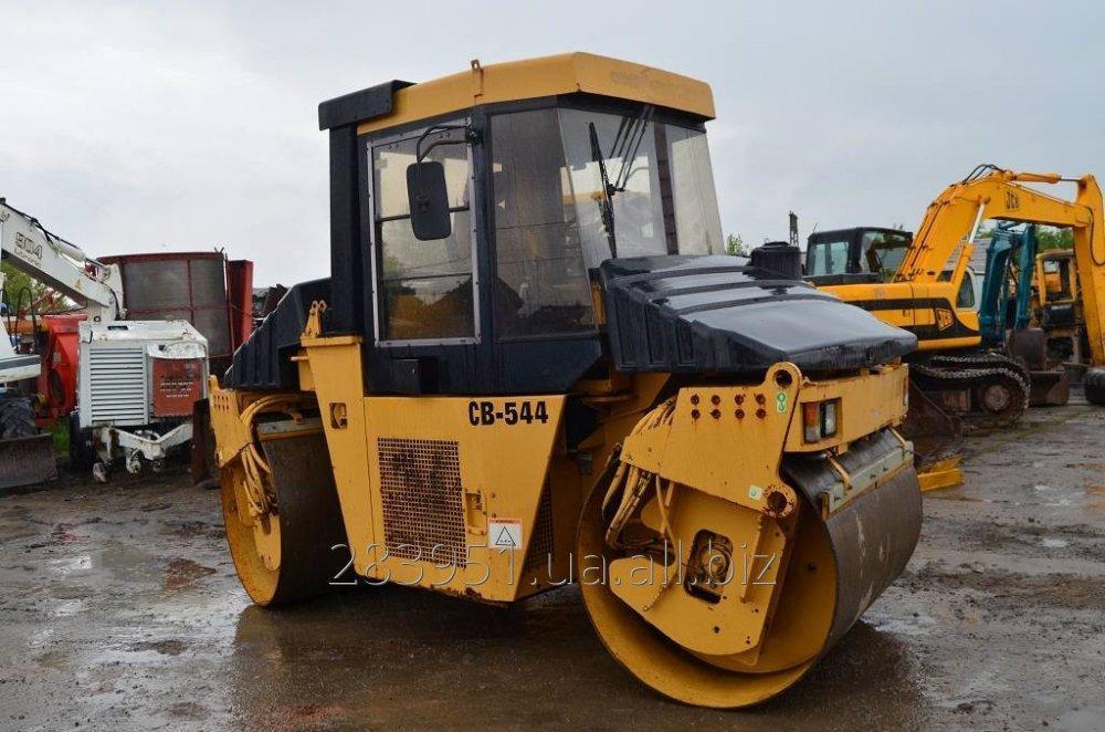 Заказать Аренда дорожного катка CAT-CB-544