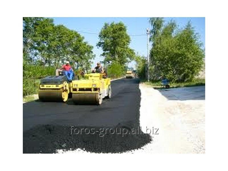 Заказать Асфальтирование и благоустройство дорог