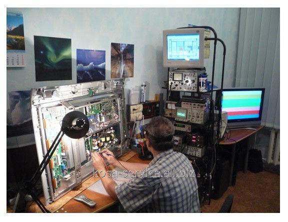 Заказать Ремонт телевизоров TOSHIBA (тошиба) и других производителей