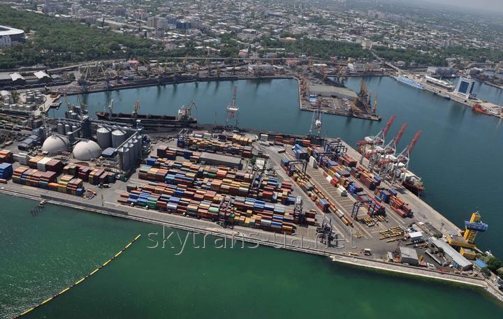 Доставка грузов из морских портов по территории Украины