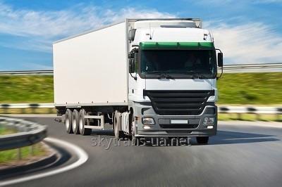 Заказать Международные автомобильные перевозки комплектных грузов FTL