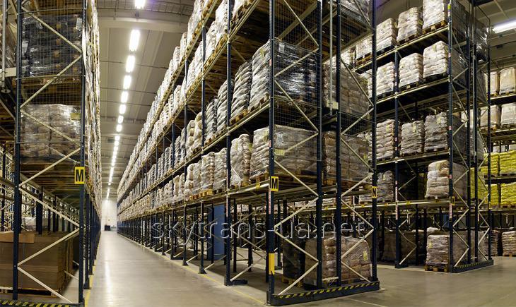 Перевалка и ответственное хранение различных грузов