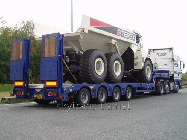 Заказать Перевозка негабаритных грузов