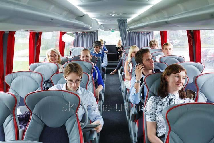 Заказать Перевозка пассажиров