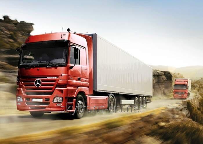 Заказать Услуга по перевозке грузов автотранспортом