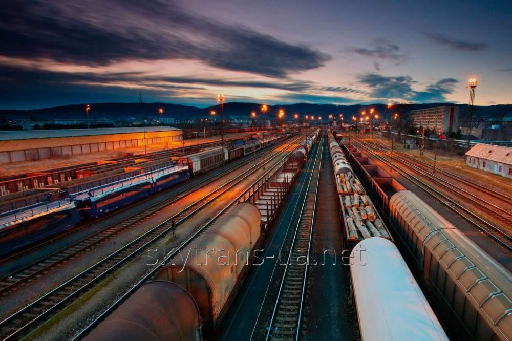 Заказать Железнодорожная перевозка