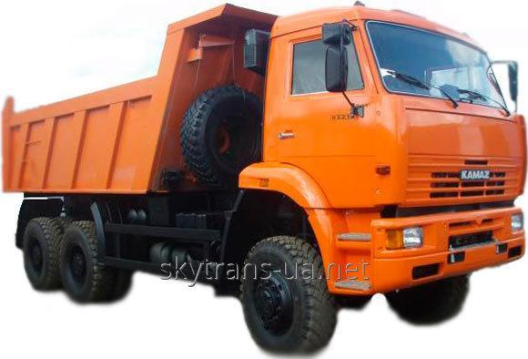 Заказать Перевозка автомобильные бестарных и насыпных грузов