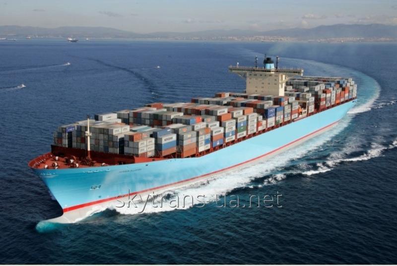 Заказать Доставка сборных грузов морем