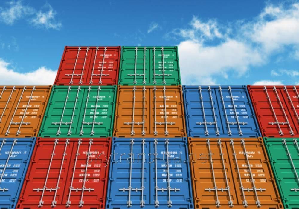 Заказать Международная контейнерная перевозка