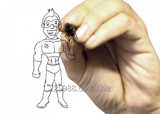 Заказать Рисованное видео, скрабл VideoScribe