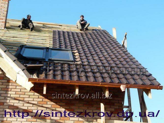Заказать Кровельные работы любой сложности, кровля крыш, ремонт крыши в Днепре