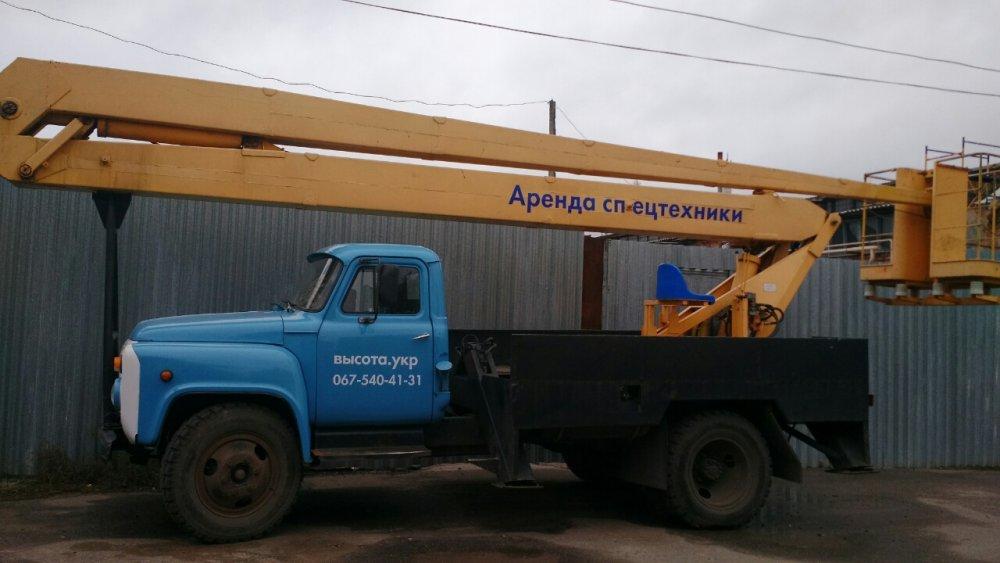 Заказать Аренда автовышки ВС-18 Харьков