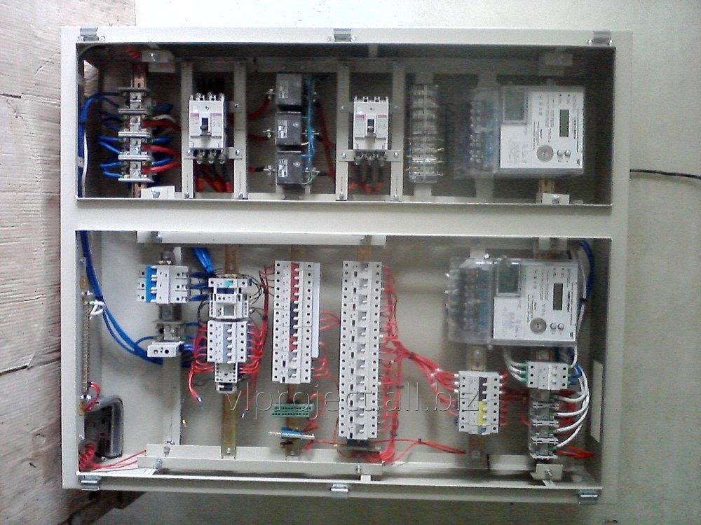 Заказать Виготовлння електро-розподільчих пристроїв, щитів керування та автоматизації