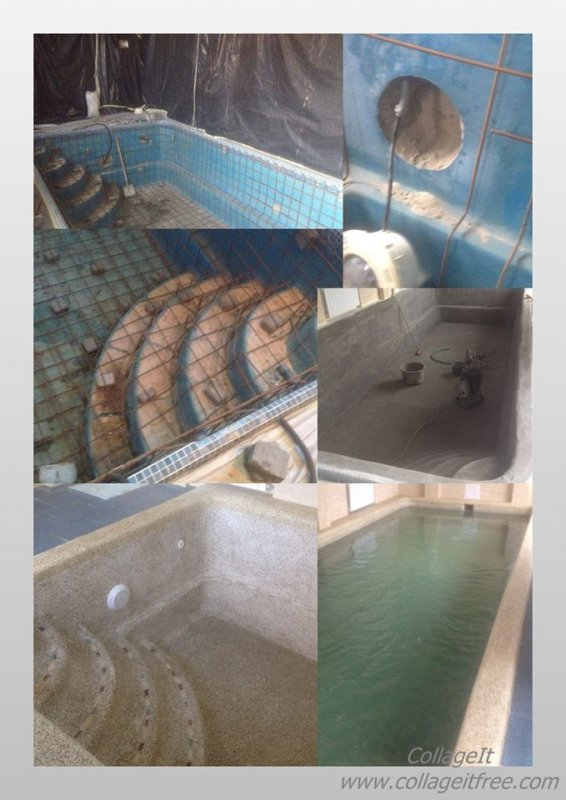 Заказать Обслуживание, ремонт, реконструкция бассейнов