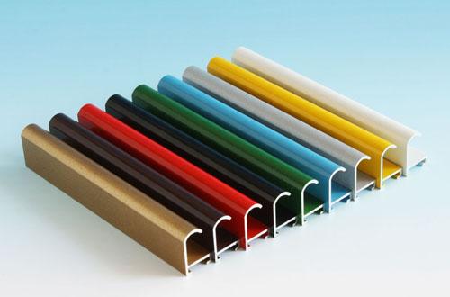 Заказать Цветное анодирование алюминиевого профиля