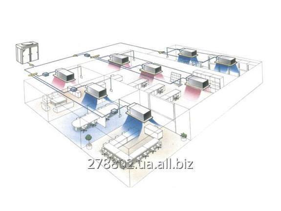 Заказать Проектирование системы кондиционирования