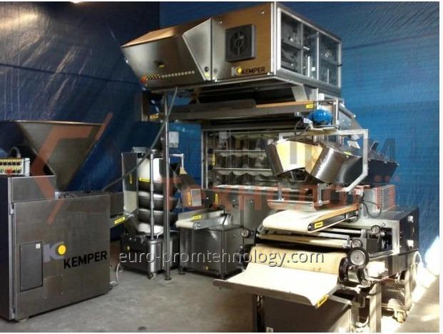 La desmontadura, el montaje y el ajuste de las líneas de producción y la maquinaria separada