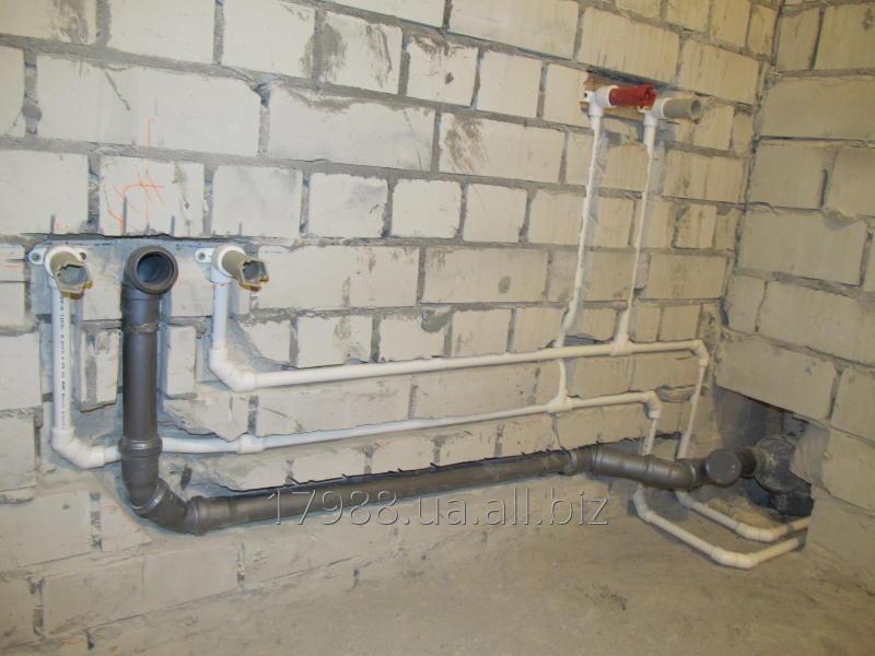 Заказать Монтаж водопровода