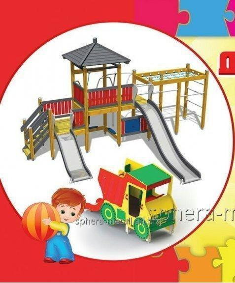 Заказать Производство и монтаж детских игровых площадок.