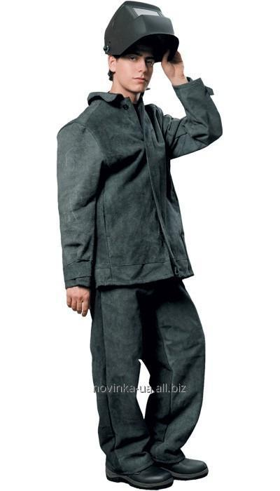 Пошив спилкового костюма для сварщиков