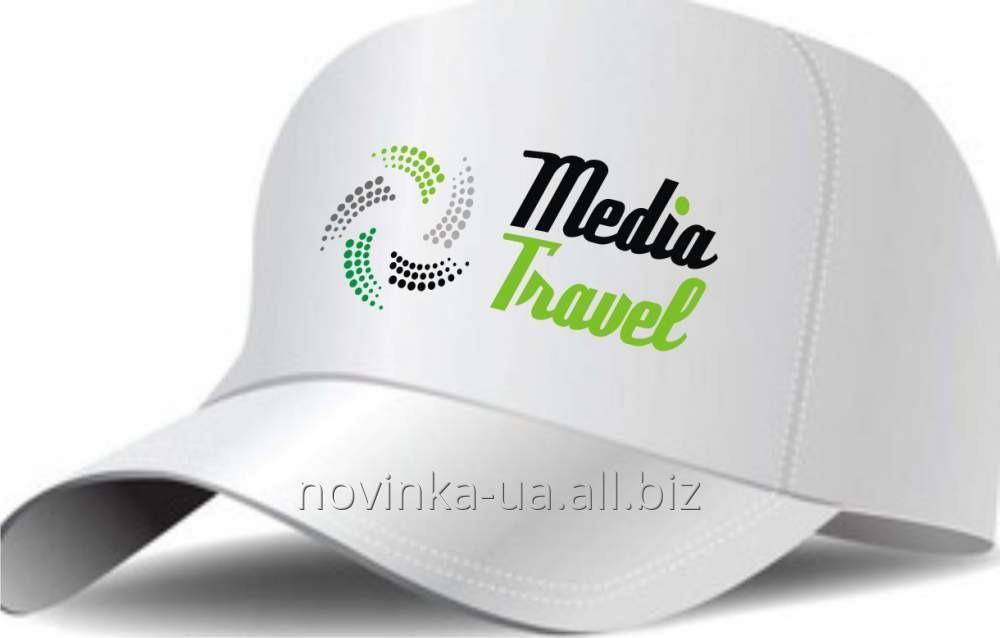 Нанесение логотипа на промо-кепку