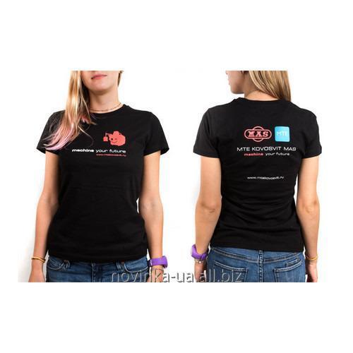 Заказать Пошив промо-футболки с вышивкой