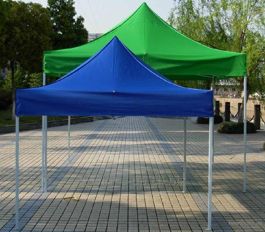 Заказать Изготовление торговых шатров
