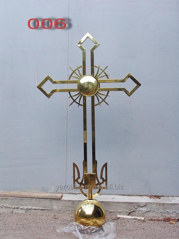 Заказать Изготовление крестов на купол