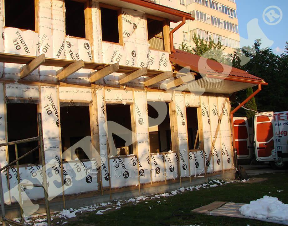 Заказать Утеплення каркасних будинків заливним пінопластом екоізол