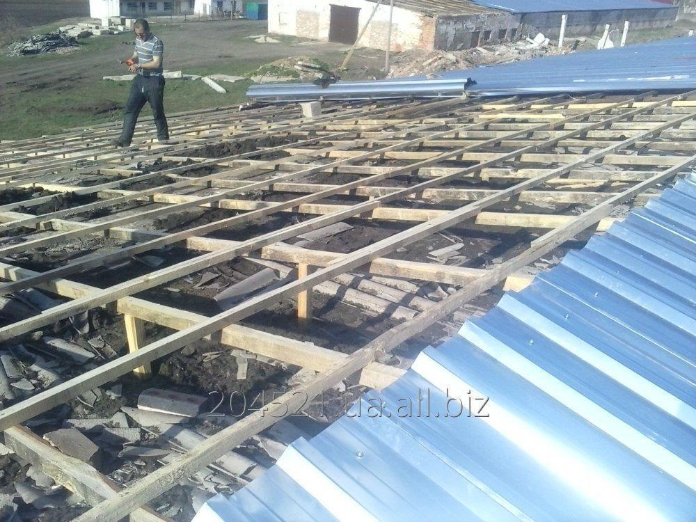 Заказать Ремонт крыш на зернохранилищах