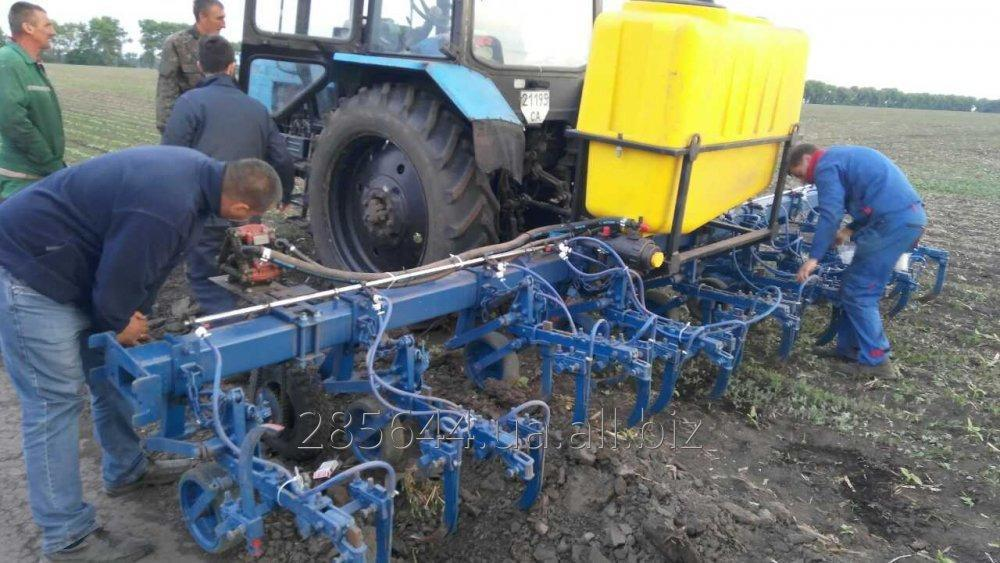 Order Re-equipment of seeders, cultivators under introduction of KAS, housing and communal services, herbicides
