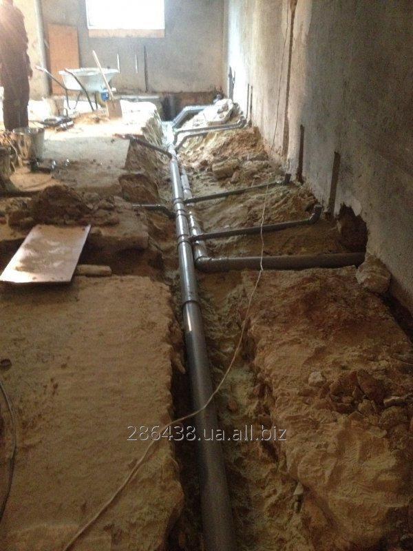 Монтаж канализации внутренней и наружной, Кривой Рог