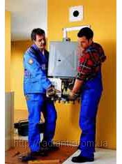 Монтаж газовых котлов, колонок, электробойлеров