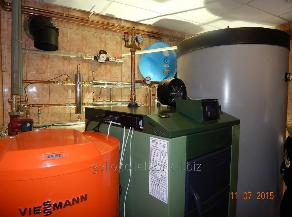 Заказать Реконструкция систем отопления, котельных частных домов