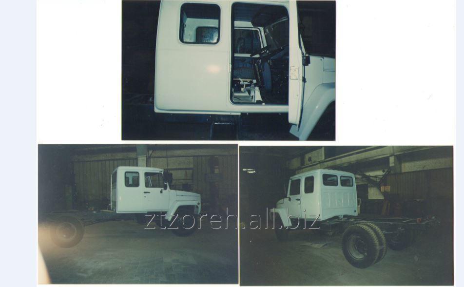 Заказать Переоборудование кабины ГАЗ-3309