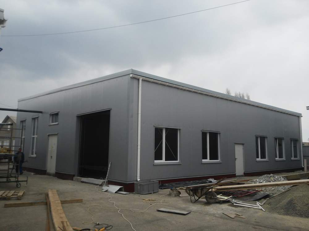 Designing of prefabricated buildings