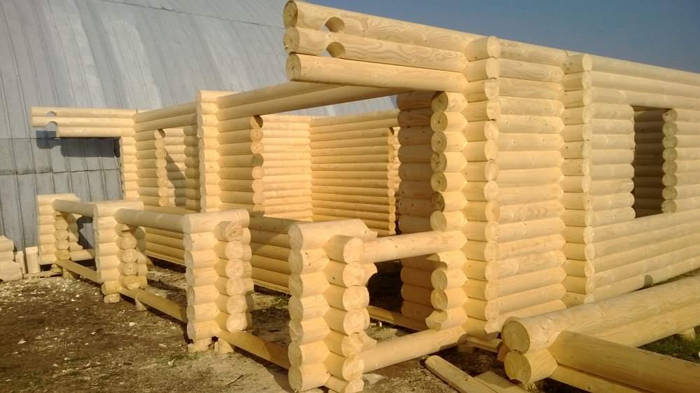 Заказать Строительство дома из дерева 001