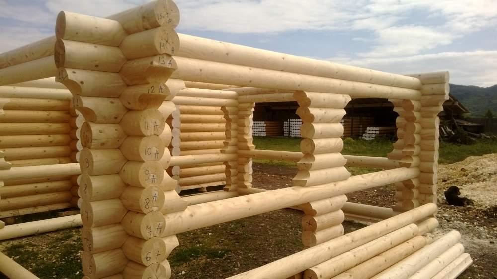 Строительство дома из дерева 006