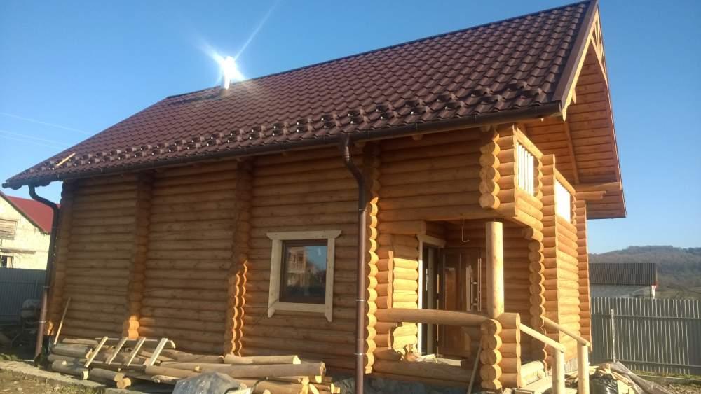 Заказать Строительство дома из дерева 003
