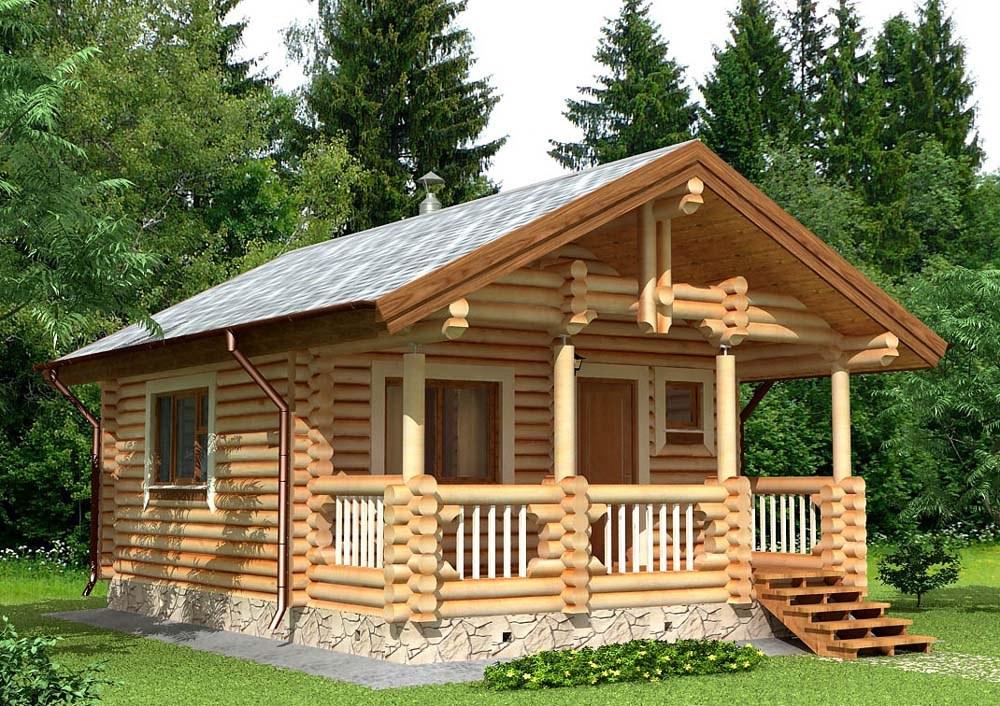 Строительство дома из дерева 8