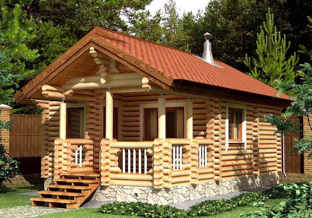 Заказать Строительство дома из дерева 11