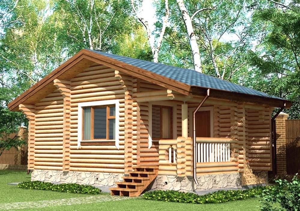 Заказать Строительство дома из дерева 14