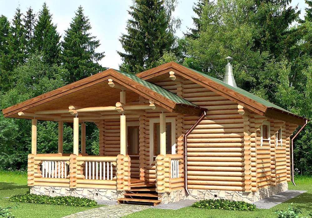 Заказать Строительство дома из дерева 17