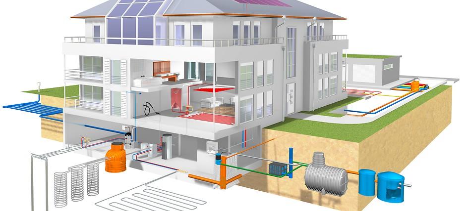 Заказать Проектирование системы отопления