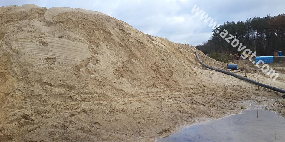 Заказать Добыча песка в карьерах