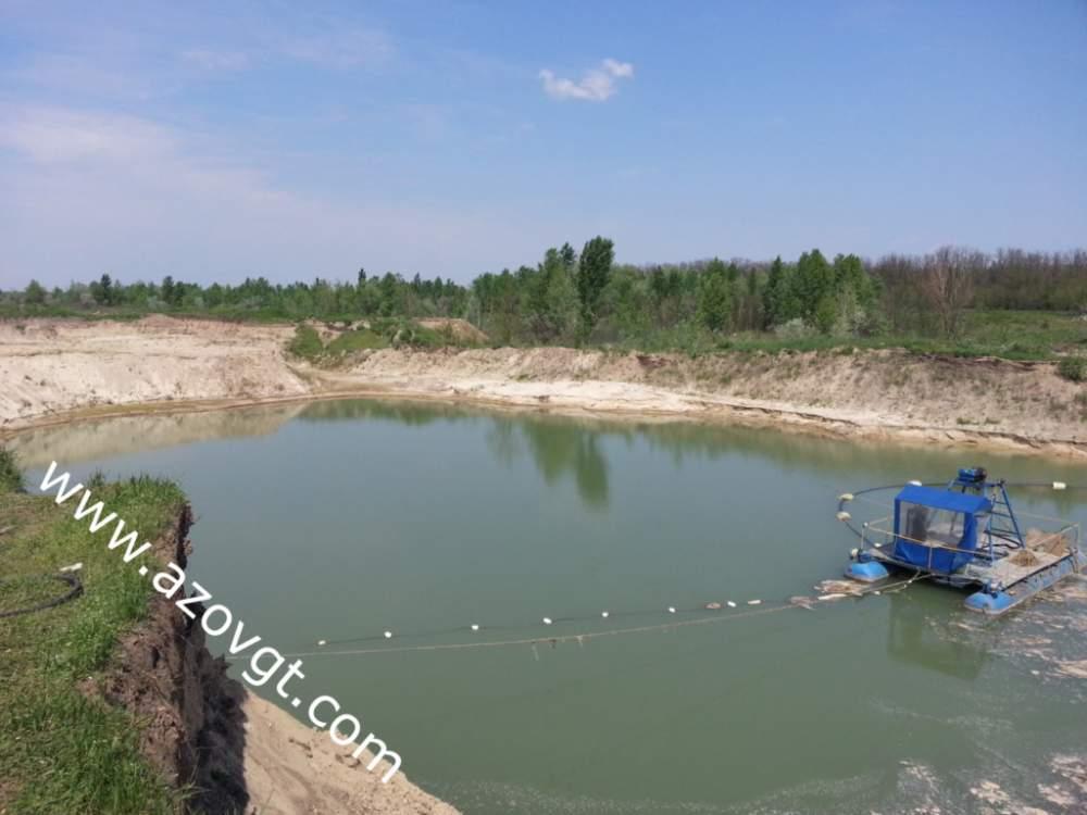 Заказать Добыча песка в обводненных карьерах