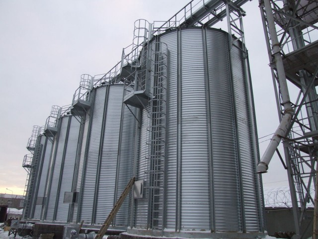 Заказать Производство зернохранилищ силосного типа
