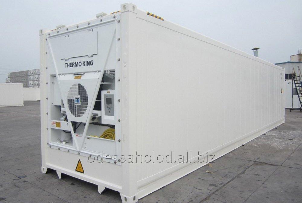 Заказать Аренда рефрижераторных контейнеров
